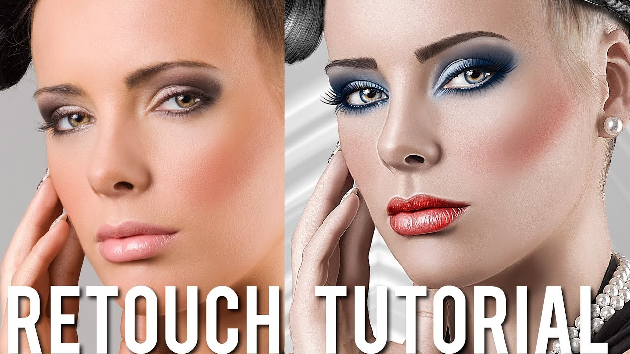 Beauty Retouching  Painting Effects Photoshop turorial