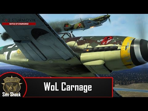 Wings of Liberty Carnage - Il2: Battle of Stalingrad