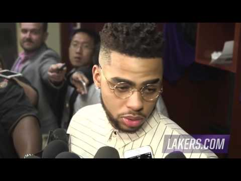 D'Angelo Russell THREATENS Lonzo Ball after getting traded in interview