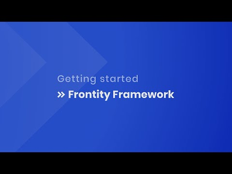 Getting started with Frontity
