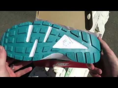 premium selection d30ad 4bdd4 cheap Nike Air Huarache Green Abyss Turbo Green shoes review on  cheapbestmall net