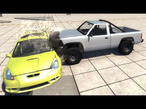 BeamNG.drive - Side Impact Crash Test for Cars