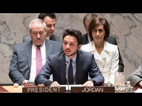 Jordan prince youngest person to chair UN meet