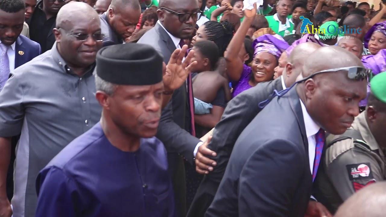 N-Power Launch in Abia by Vice President Osinbajo