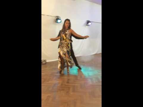 demonstration de tango michel et domoina
