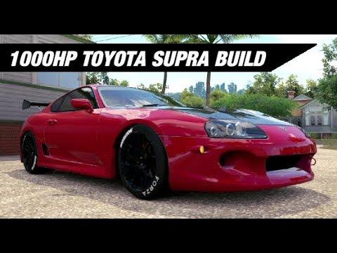 1000HP Toyota Supra Build - Forza Horizon 3