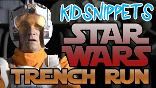 """Kid Snippets: """"Star Wars Trench Run"""" (May the 4th Be With You!)"""