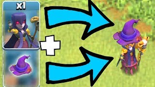 """Put the HAT on the WITCH!! """"Clash Of Clans"""" SUPER POWERFUL!?!"""