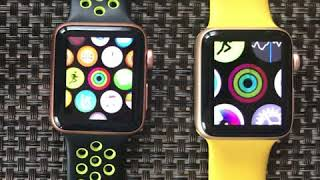 AppleWatch Series 2 vs 3 speed compared