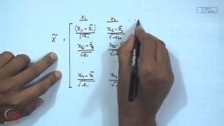 Mod-01 Lec-09 Multivariate descriptive statistics (Contd.)