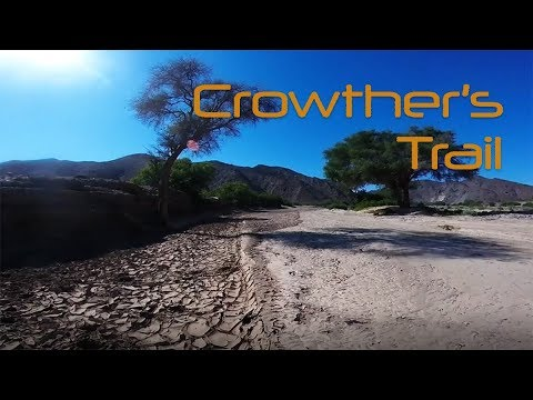 A trip through Crowther's Trail in Namibia