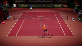 Tennis World Tour  Xbox One Patch 1.0.0.8 Pro Gameplay