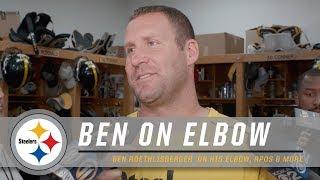 Roethlisberger talks elbow, RPOs, Week 2 | Pittsburgh Steelers