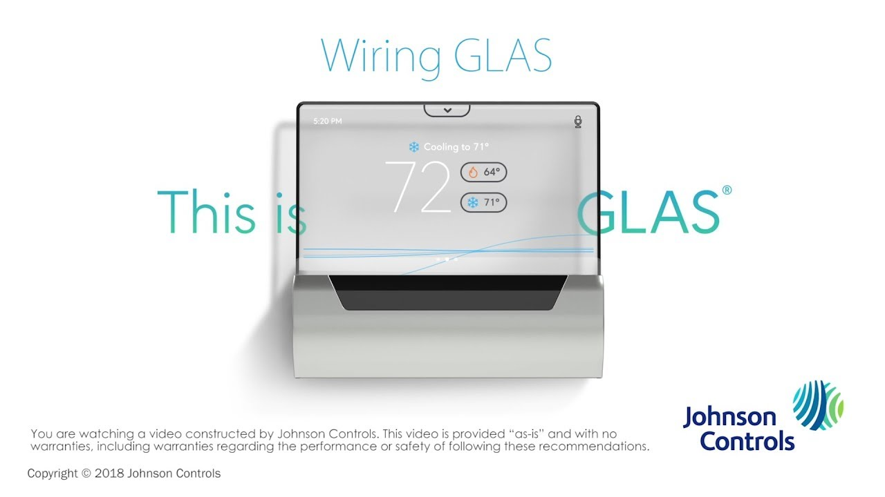 small resolution of glas installation wiring glas johnson controls