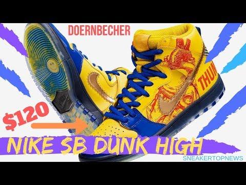 8a612b9fddd3a Finnigan Mooney s Nike SB Dunk High Returns For 15 Years Of ...