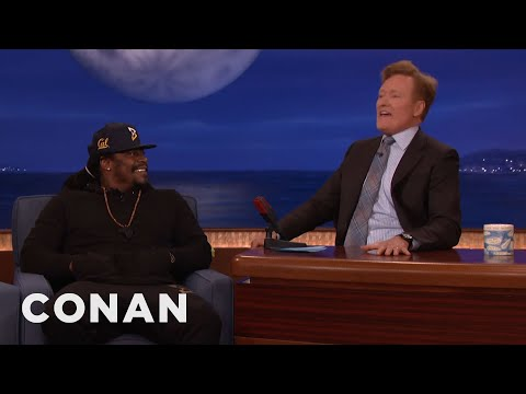 Marshawn Lynch Improves Conan's Street Swag  - CONAN on TBS
