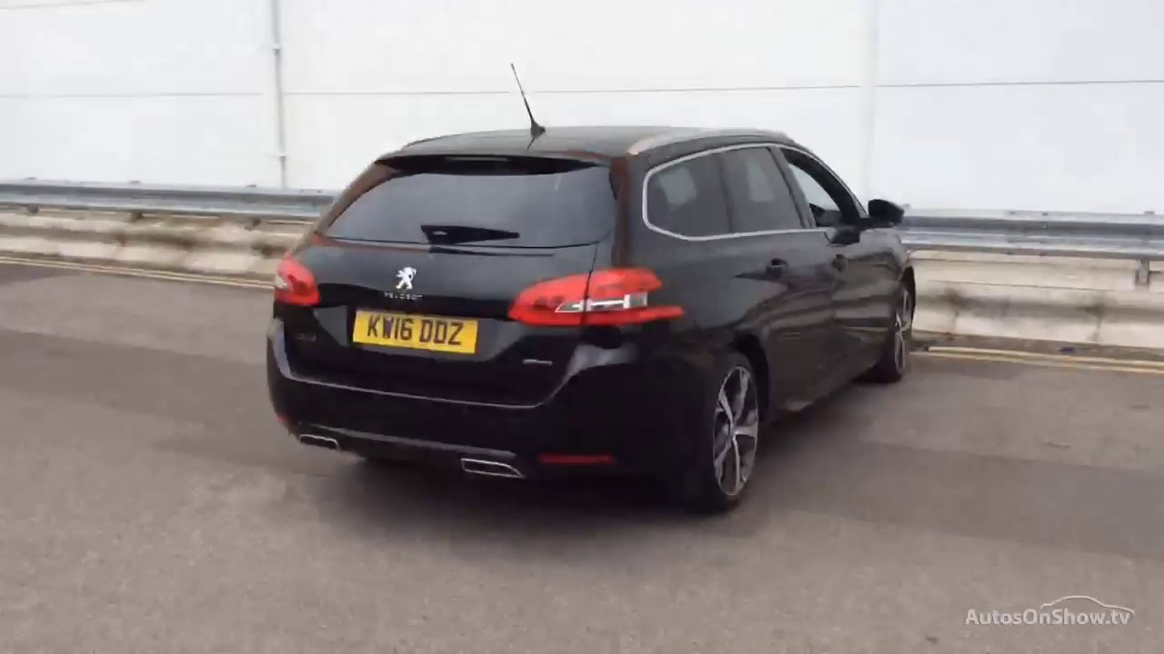peugeot 308 blue hdi s s sw gt line black 2016 kw16ddz. Black Bedroom Furniture Sets. Home Design Ideas