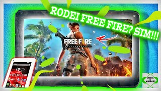 FINALMENTE!!! Rodei Free Fire no Tablet Multilaser M7s Quad/Dual core?!