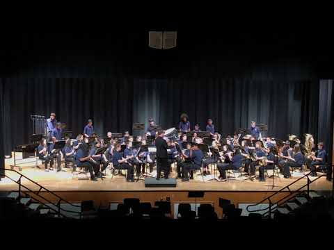 Finland Middle School 8th Grade Band Winter Concert 12/12/18