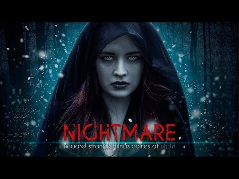Nightmare | Hollywood Style Movie Poster Editing Tutorial | Easy and Effective