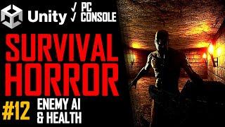 Wie man Ein Survival-Horror-Spiel - Unity Tutorial 012 - AI & GESUNDHEIT