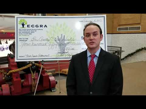 """Gaming Revenue Authority's Perry Wood talks """"lead asset"""" grants #Erie"""