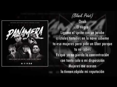 Me Compre Un Panamera (letra) - Quimico ft. Arcangel x Bad Bunny x Almighthy  x Black Point