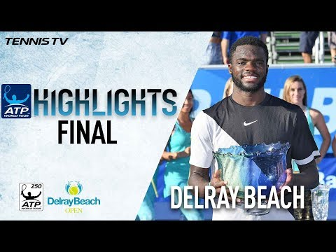 Watch Highlights: Tiafoe Wins First Title In Delray Beach