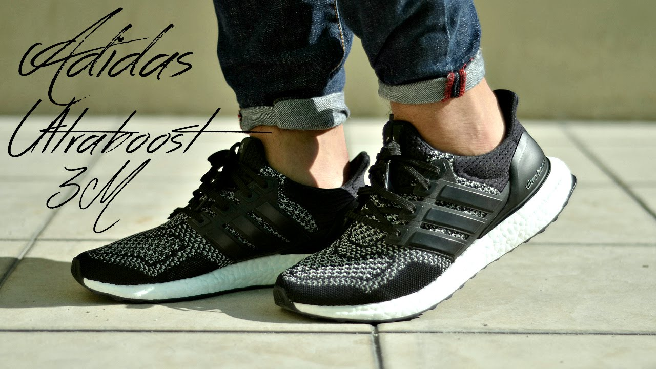 57e43e2cd81e2 Adidas Ultraboost 3M Review + On Feet - YouTube