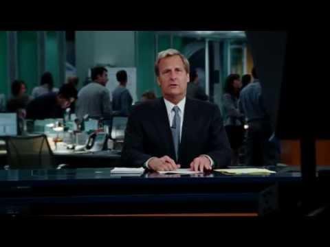 The Newsroom: Season 1 - Trailer #1 (HBO)