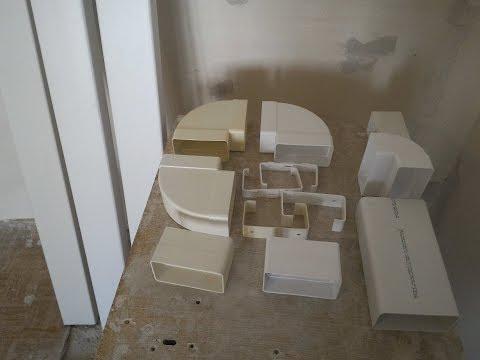 Монтаж вентиляции на кухне под натяжной потолок