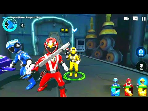 Power Rangers RPG All New Power Mobile Video Game (Nexon) Android Gameplay HD