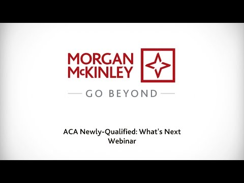 [Webinar] ACA newly qualified: What's next? #CareerAlly