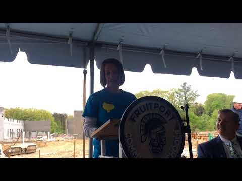 Fruitport High School groundbreaking ceremony