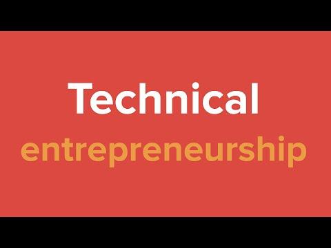 Workshop Technical Entrepreneurship