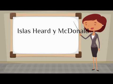 How do you say 'Heard Island and McDonald Islands' in Spanish?