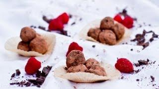 Chocolate Raspberry Truffles | Tasty Memories | Just Eat Life