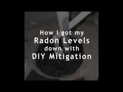 How I got my Radon levels down with DIY mitigation