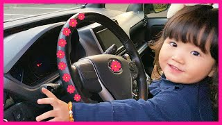 We are in the Car | Wheels On The Bus Song Nursery Rhymes & Kids Songs by Yume & Rena