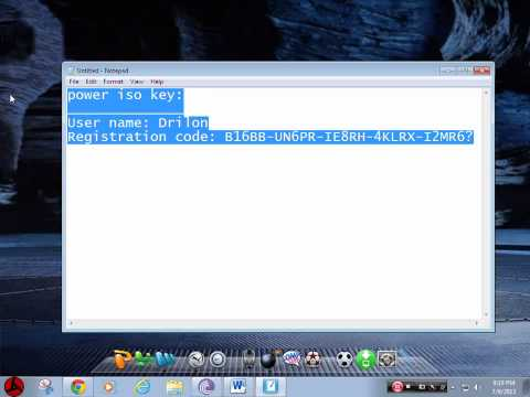 How to download poweriso full version [updated 2014]  With Codes