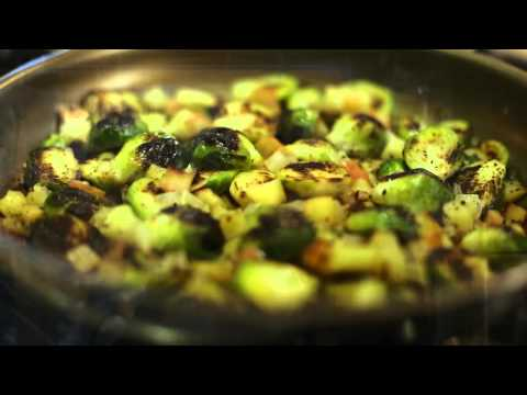 Half Your Plate with Chef Michael Smith: Pan Roast Brussels Sprouts 101