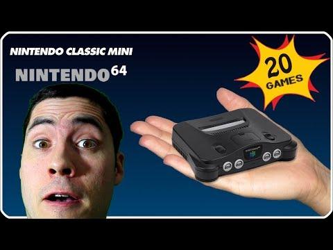 Quels jeux pour la N64 MINI ?