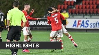 Goals AZ - NAC Breda (4-0) | Onder 19 | KNVB Beker