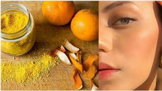 Orange Peel Face Mask for Skin Brightening