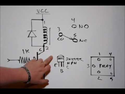 wiring for amplifier electronic tutorial how to drive relays  dc motors  dc  electronic tutorial how to drive relays  dc motors  dc