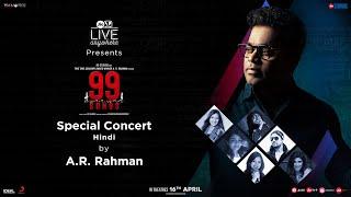 99 Songs | Digital Concert - Hindi | A. R. Rahman, Ehan Bhat | In Cinemas April 16th, 2021