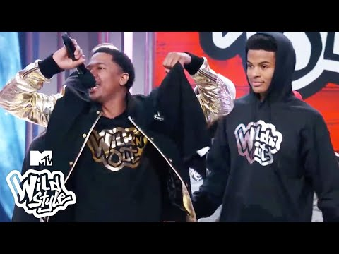 Trevor Jackson vs Nick Cannon & White Girl Battle Gets Sexual  Wild 'N Out  Wildstyle