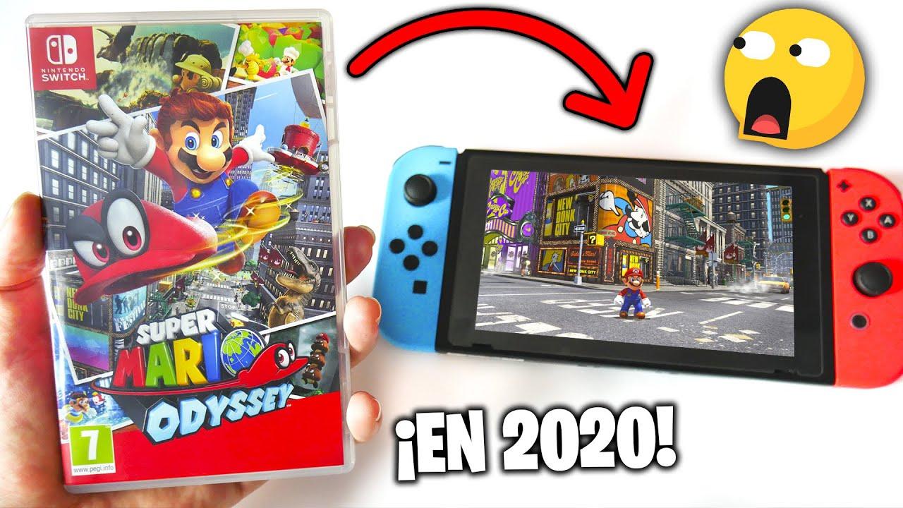 Juego a Super MARIO ODYSSEY en 2020 🤣 en mi Nintendo SWITCH