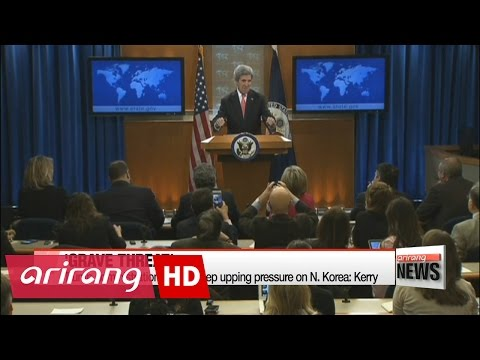 Trump administration should keep upping pressure on N. Korea: Kerry