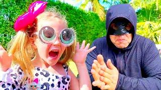 Nastya và LOL nhà cho trẻ em với bất ngờ